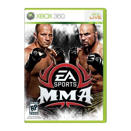 EA Sports MMA Xbox 360 купить в новосибирске