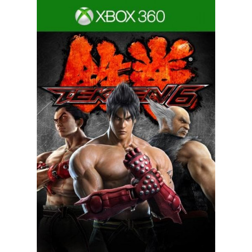 Tekken 6 Xbox 360 купить в новосибирске