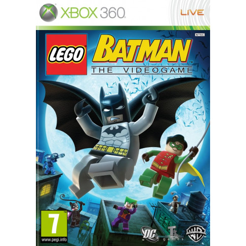 LEGO Batman The Videogame Xbox 360 Б/У купить в новосибирске