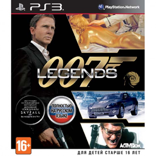 007: Legends [PlayStation 3] купить в новосибирске