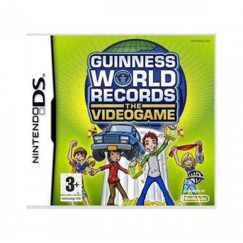 Guiness World Records: The Videogame Nintendo DS Б/У купить в новосибирске