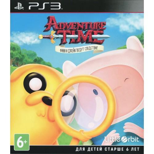 Adventure Time Finn & Jake Investigations PS 3 Б/У купить в новосибирске