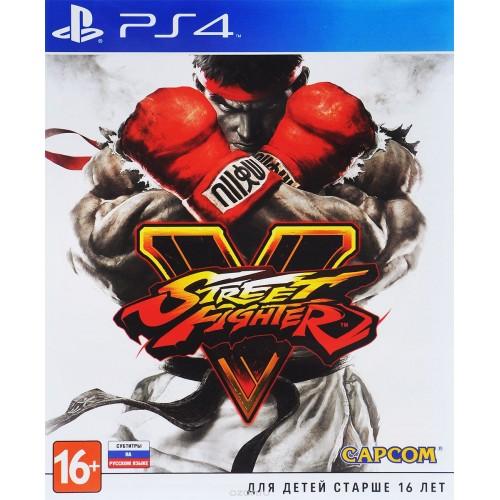 Street Fighter V PlayStation 4 Б/У купить в новосибирске