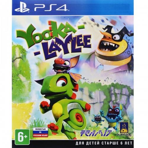 Yooka-Laylee PlayStation 4 Б/У купить в новосибирске