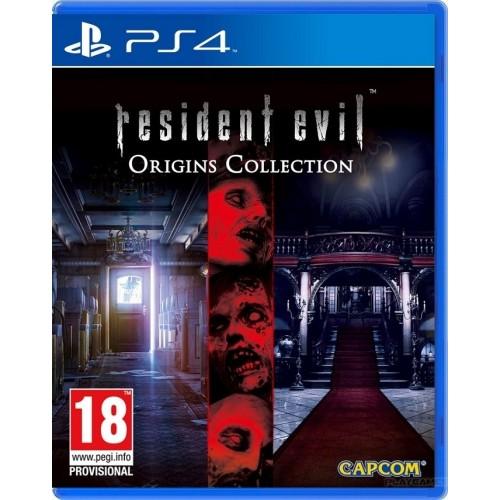 Resident Evil Origins Collection PlayStation 4 Новый купить в новосибирске