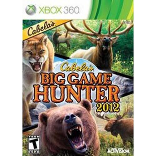 Cabela's Big Game Hunter 2012 Xbox 360 Б/У купить в новосибирске