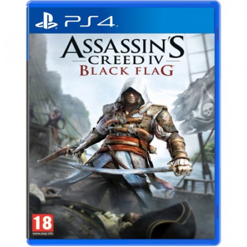 Assassin's Creed IV Black Flag PlayStation 4 Б/У купить в новосибирске