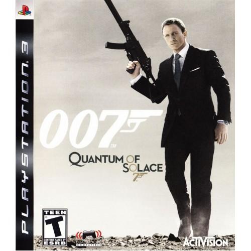 007 Квант Милосердия PlayStation 3 Б/У купить в новосибирске
