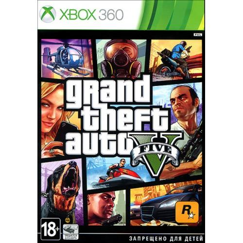 Grand Theft Auto V (GTA 5) Xbox 360 купить в новосибирске