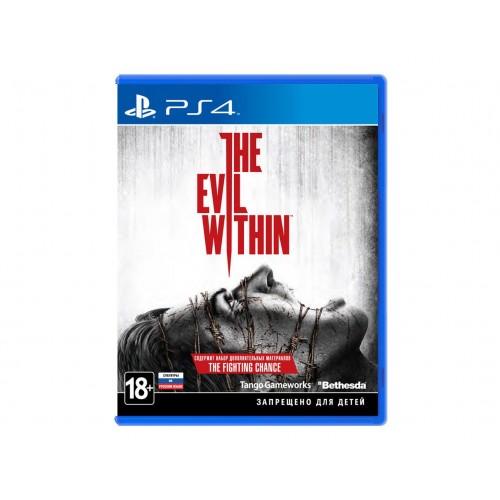 The Evil Within PlayStation 4 Б/У купить в новосибирске