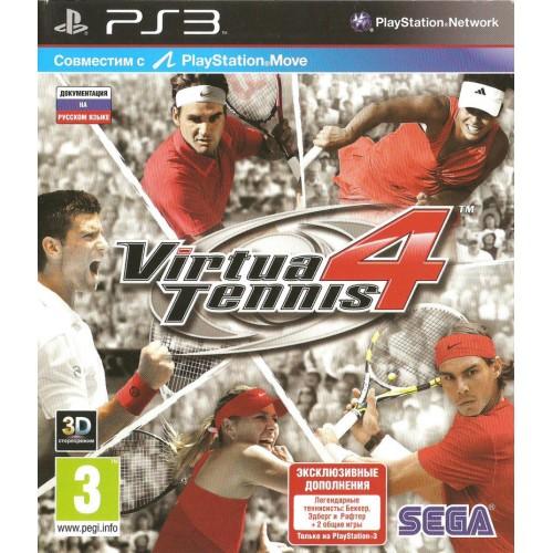 Virtual Tennis 4 PlayStation 3 Б/У купить в новосибирске