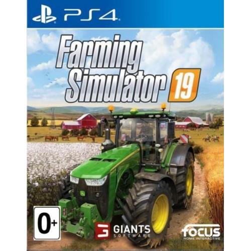 Farming Simulator 19 PlayStation 4 Б/У купить в новосибирске