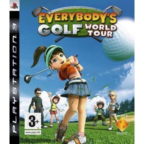 Everybody's Golf PlayStation 3 Б/У купить в новосибирске