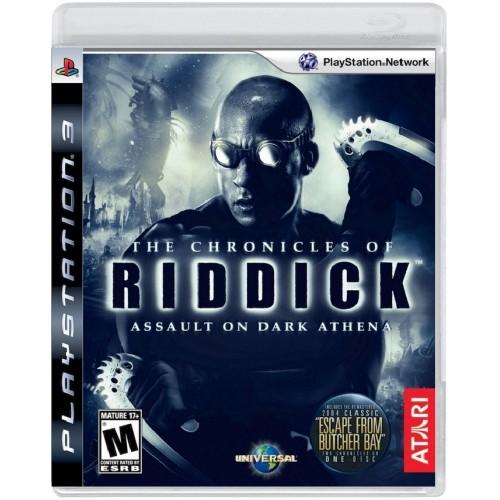 The Chronicles of Riddick Assault on Dark Athena PS3 Б/У купить в новосибирске
