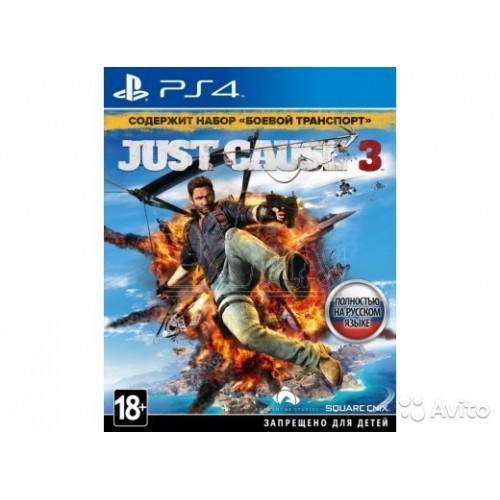 Just Cause 3 PlayStation 4 Б/У купить в новосибирске