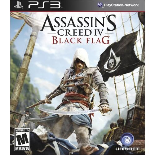 Assassin Creed 4: Black Flag [PlayStation 3] купить в новосибирске