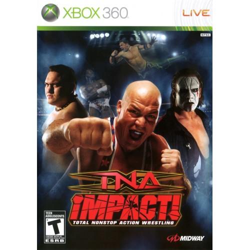 TNA iMPACT! Total Nonstop Action Wrestling Xbox 360 Б/У купить в новосибирске