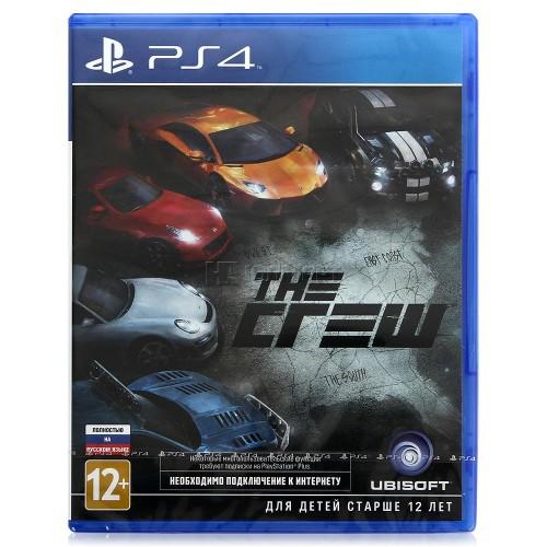 The Crew PlayStation 4 Б/У купить в новосибирске