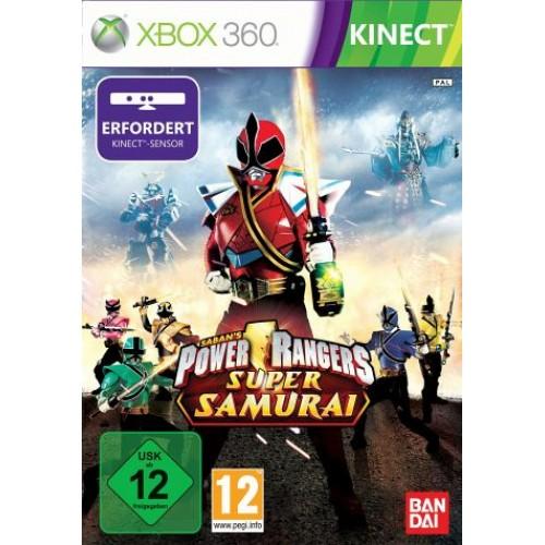 Power Rangers Super Samurai Kinect Xbox 360 купить в новосибирске