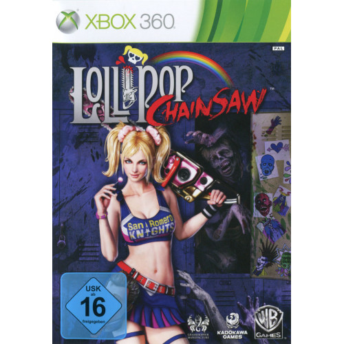Lollipop Chainsaw Xbox 360 Б/У купить в новосибирске