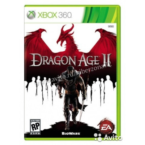 Dragon Age 2 Xbox 360 Б/У купить в новосибирске
