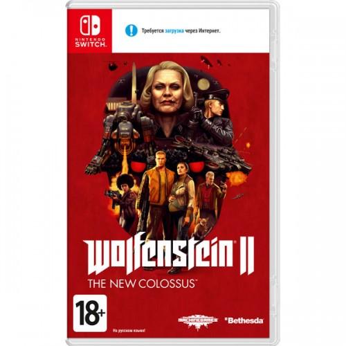 Wolfenstein II - The New Colossus Nintendo Switch Новый купить в новосибирске
