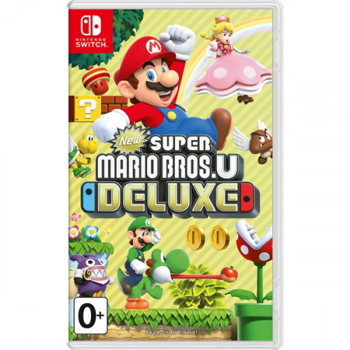 New Super Mario Bros U Deluxe купить в новосибирске