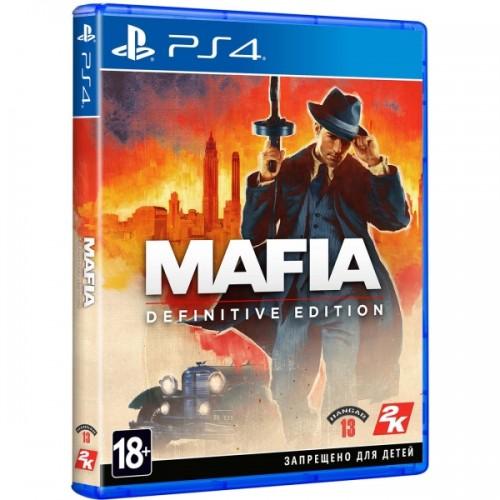 Take-Two Mafia: Definitive Edition (Б/У) купить в новосибирске