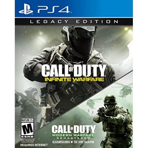 Call of Duty Infinite Warfare Legacy Edition PlayStation 4 Б/У купить в новосибирске