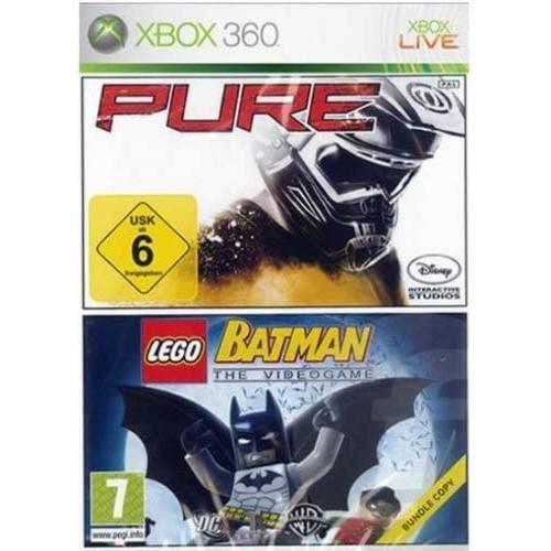 Pure + Lego Batman Xbox 360 Б/У купить в новосибирске