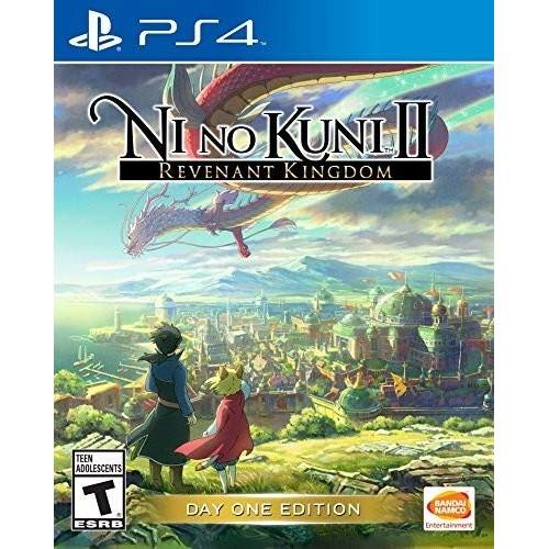 Ni no Kuni II PS4 Новая купить в новосибирске