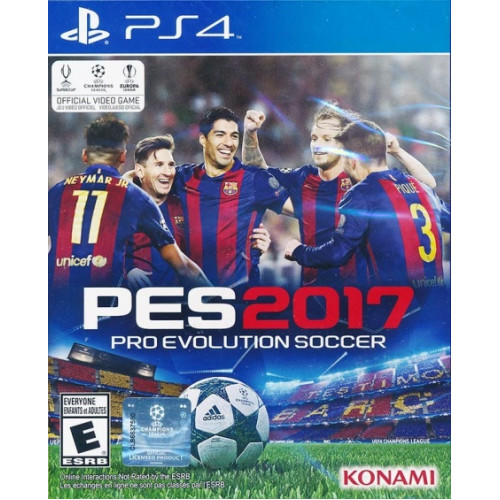 Pro Evolution Soccer 2017  купить в новосибирске
