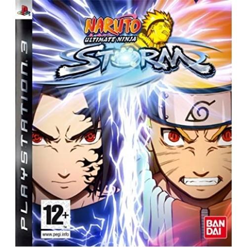 Naruto Ultimate Ninja Storm PlayStation 3 Б/У купить в новосибирске