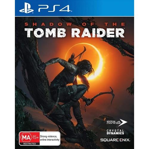Shadow Of The Tomb Raider PS4 Б/У купить в новосибирске