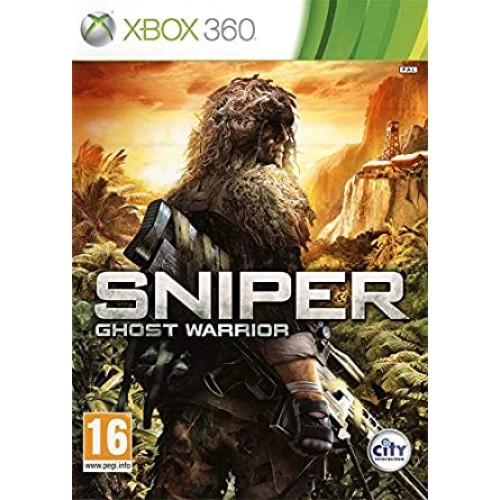 Снайпер: Воин - Призрак Xbox 360 Б/У купить в новосибирске