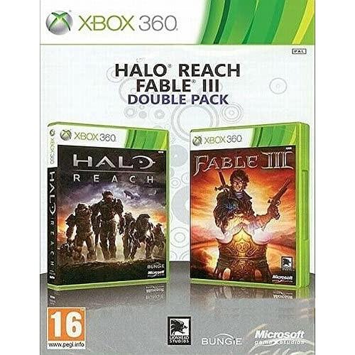 Halo Reach and Fable III Double Pack Xbox 360 Б/У купить в новосибирске