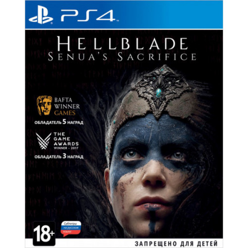 Hellblade Senua's Sacrifice PlayStation 4 Б/У купить в новосибирске