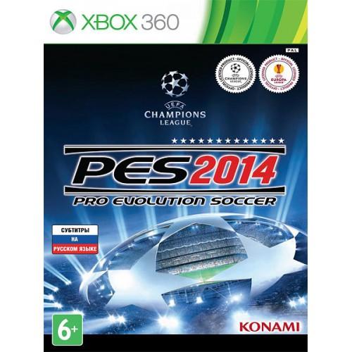 Pro Evolution Soccer 2014 Xbox 360 купить в новосибирске