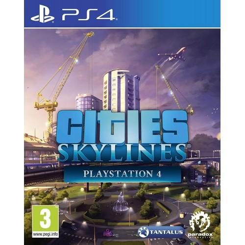 Cities Skylines PlayStation 4 Б/У купить в новосибирске