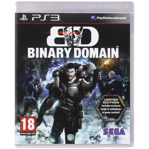 Binary Domain PlayStation 3 Б/У купить в новосибирске
