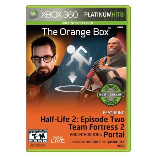 The Orange Box Xbox 360 Б/У купить в новосибирске
