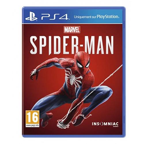 Marvel Человек-Паук PlayStation 4 Б/У купить в новосибирске