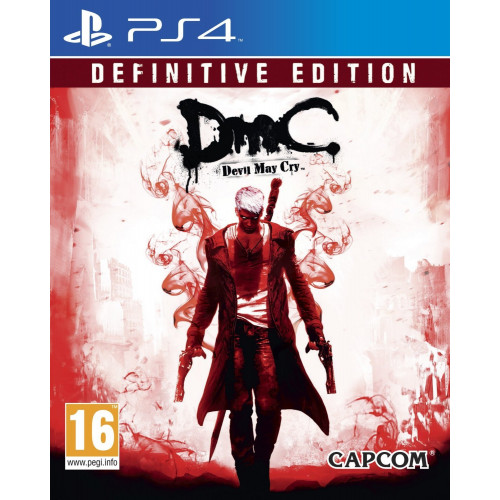 DMC: Devil May Cry Definitive Edition PlayStation 4 Б/У купить в новосибирске