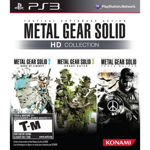 Metal Gear Solid HD Collection PS3 Б/У купить в новосибирске
