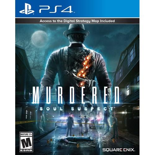 Murdered Soul Suspect PS4 Новый купить в новосибирске