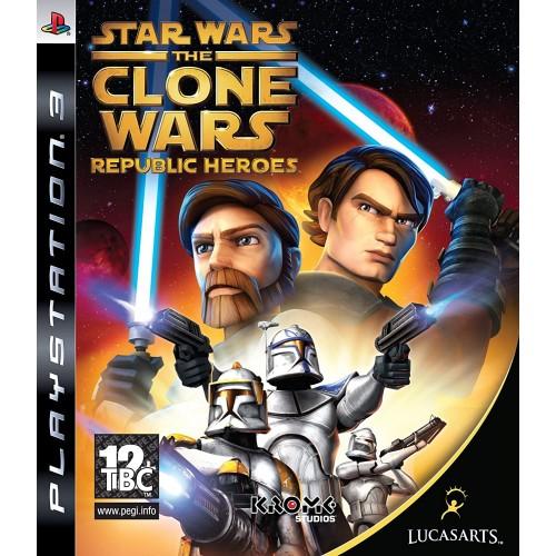 Star Wars The Clone Wars: Republic Heroes PlayStation 3 Б/У купить в новосибирске