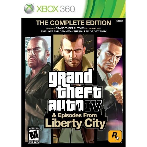 Grand Theft Auto Liberty City Xbox 360 Б/У купить в новосибирске