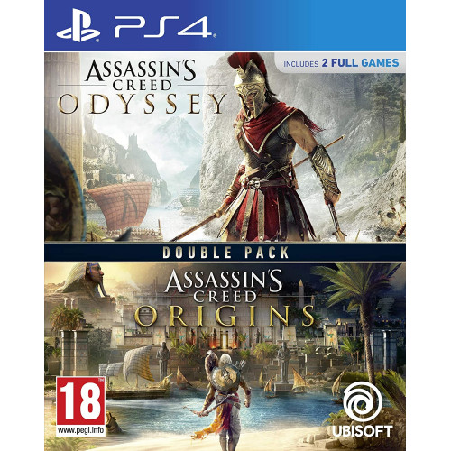 Assassin's Creed Origins + Odyssey PlayStation 4 Б/У купить в новосибирске