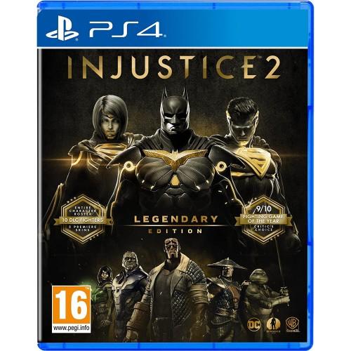 Injustice 2 Legendary Edition PlayStation 4 Новый купить в новосибирске