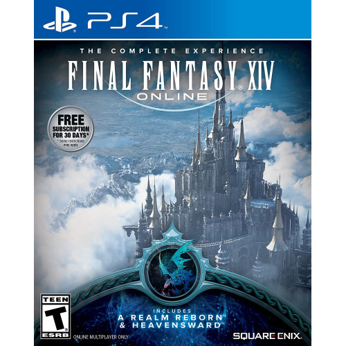 Final Fantasy XIV PS4 Б/У купить в новосибирске
